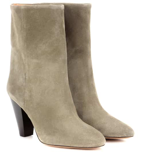 c178a3b68 Isabel Marant Etoile Darilay Suede Ankle Boots