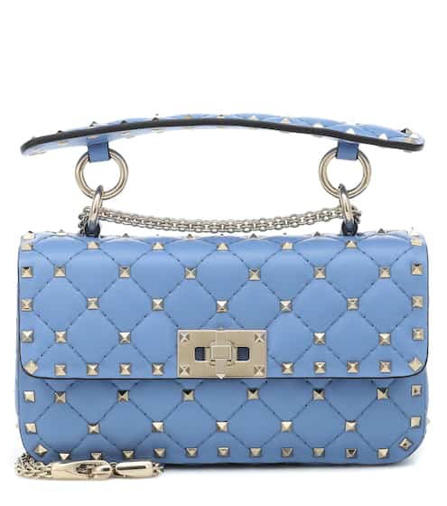 b636a5ea031 Valentino Garavani Rockstud Spike Small leather shoulder bag | Valentino