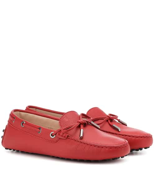 598fc8585788 Gommino leather loafers