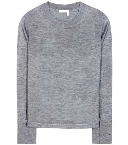 Chloé Wool, silk and cashmere top