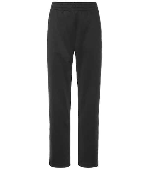 아크네 스튜디오 Acne Studios Face cotton-blend trackpants