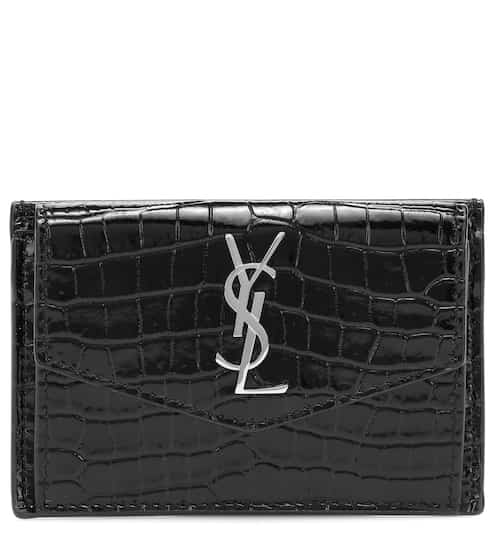 생 로랑 Saint Laurent Uptown leather card case