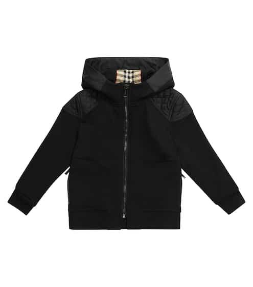 버버리 키즈 후드티 Burberry Cotton zipped hoodie