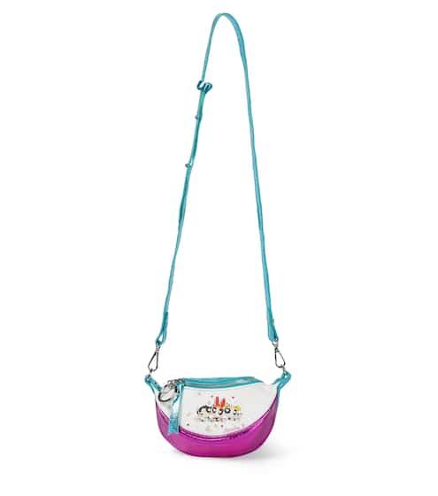 모나리자 키즈 크로스백 Monnalisa Leather bag