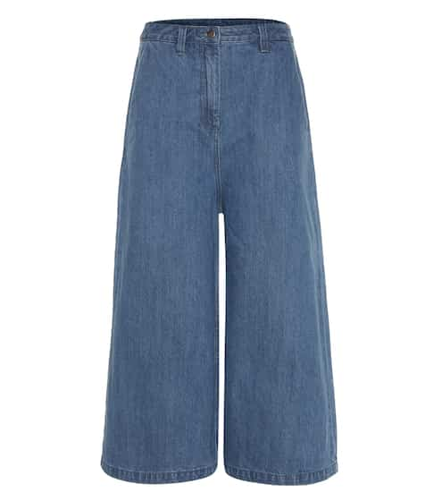 Edit Culottes aus Denim