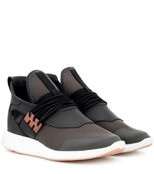 Y-3 Sneakers Elle Run mit Leder