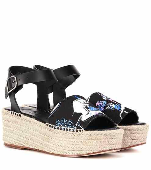 로에베 LOEWE x Paulas Ibiza printed sandals