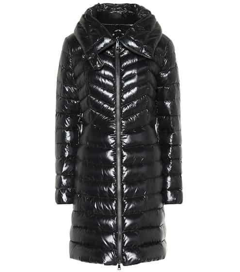 Faucon lacquered down coat | Moncler