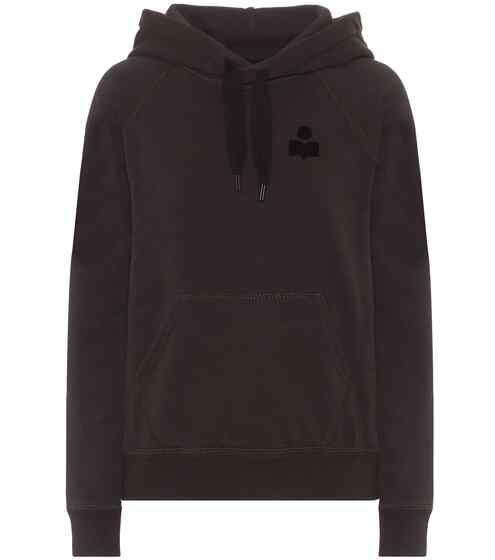 이자벨 마랑 Isabel Marant Etoile Malibu cotton-blend jersey hoodie