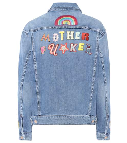 Mother Bestickte Jeansjacke The Drifter