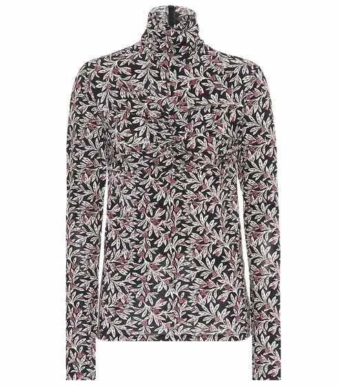 이자벨 마랑 Isabel Marant, EEtoile Truey printed jersey top