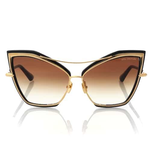 Dita Eyewear Sonnenbrille Creature aus Titan und Acetat