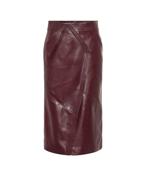 Jupes en cuir de Luxe pour Femme   En ligne sur Mytheresa 3f7baa66eb9