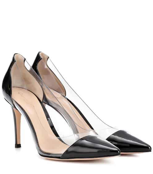 cee8c7f1d3a Gianvito Rossi Plexi 85 Patent Leather Pumps from mytheresa - Styhunt