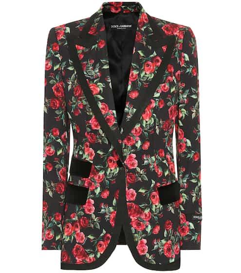 Dolce & Gabbana Bedruckter Blazer