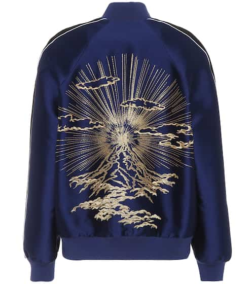 Lorinda embroidered bomber jacket | Stella McCartney