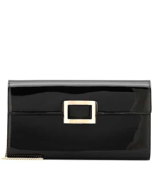 dfb0397d9b Viv  Envelope patent leather clutch