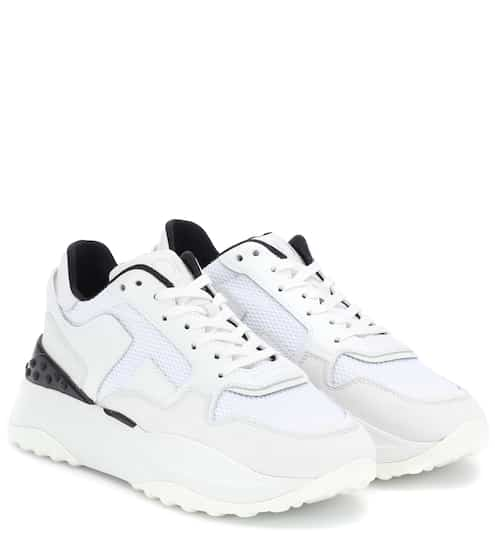 4079d90d8470 Leather and nubuck sneakers