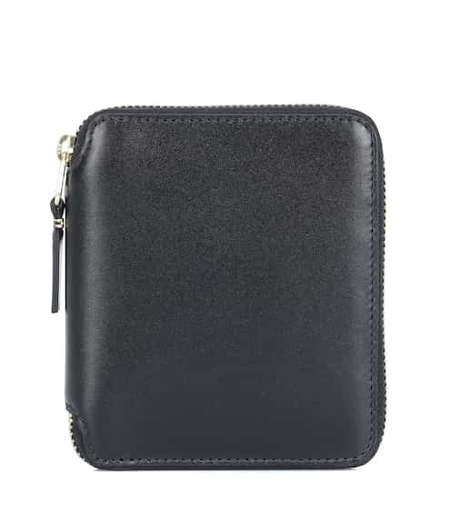 꼼데가르송 지갑 미디움 - 블랙 Comme Des Garcons Wallet Medium leather wallet