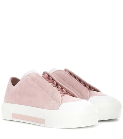 Alexander McQueen Sneakers aus Samt