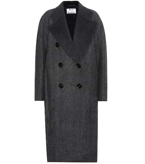 Acne Studios Mantel Cales aus Wolle und Cashmere