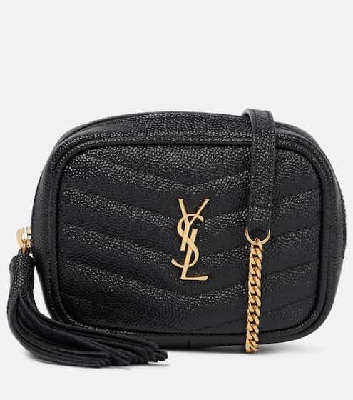 생 로랑 루백 베이비 - 블랙 Saint Laurent Lou Baby leather belt bag