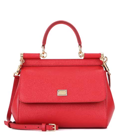 25853a088627 Miss Sicily Small leather shoulder bag