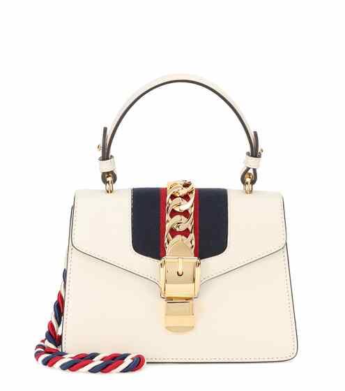 Gucci Tasche Sylvie Mini aus Leder
