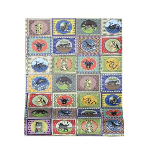 구찌 애니몰 카드 프린티드 월페이퍼 Gucci Tiger Cards printed wallpaper