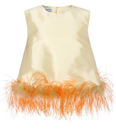 Prada Oberteil aus Seide und Wolle