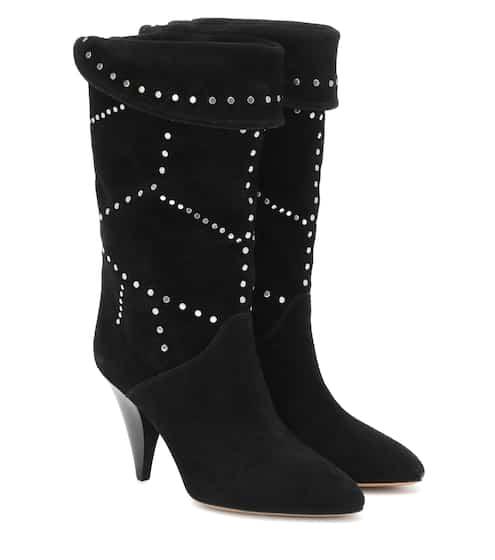 이자벨 마랑 Isabel Marant Lestee studded suede ankle boots