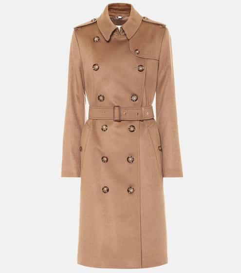 버버리 트렌치 코트 Burberry Kensington cashmere trenchcoat