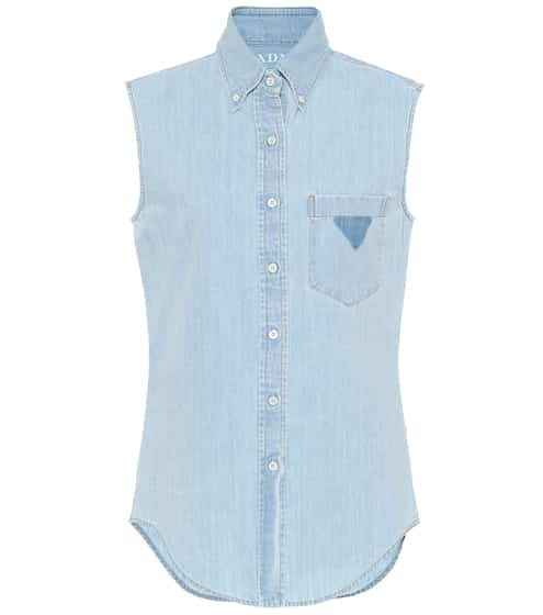 56af4091caa Denim Shirts and Blouses for Women