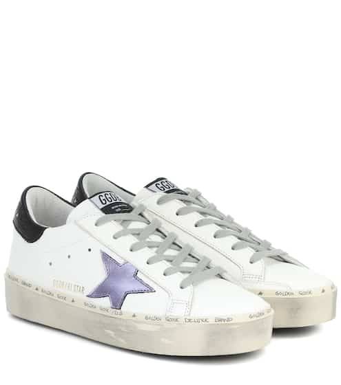 골든구스 Golden Goose Hi Star leather sneakers