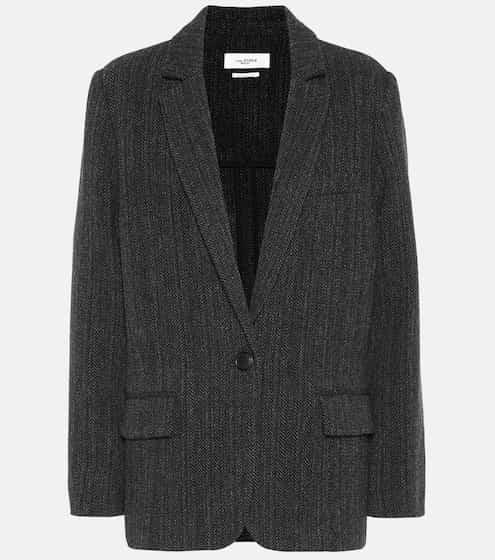 c62c6838f4 Charly herringbone wool jacket | Isabel Marant, Étoile