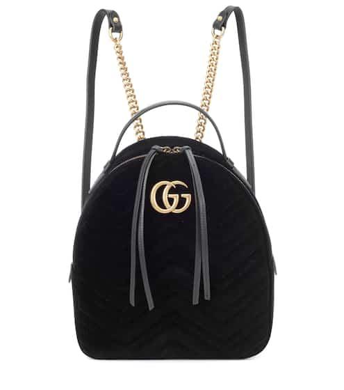 250f3c3c928f Gucci Gg Marmont Velvet Backpack from mytheresa - Styhunt