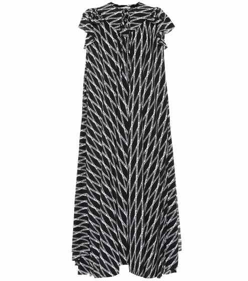 a0725d4389cea Printed silk midi dress