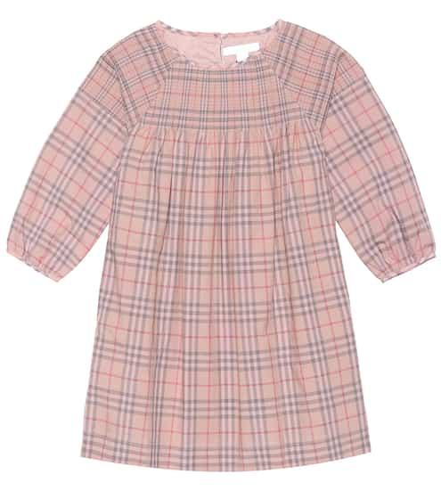 버버리 키즈 체크 원피스 Burberry Kids Check cotton poplin dress