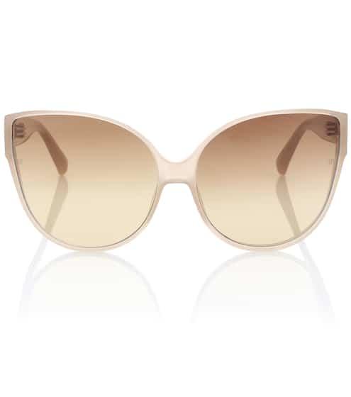 Linda Farrow Oversize-Sonnenbrille