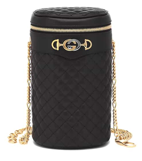 구찌 Gucci Quilted leather belt bag