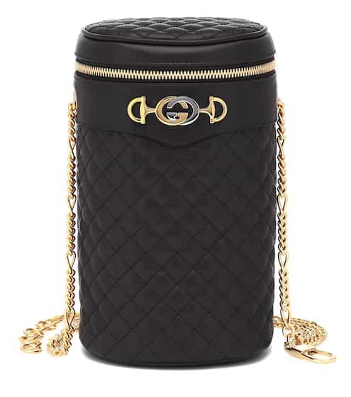 구찌 Gucci Quilted leather belt bag
