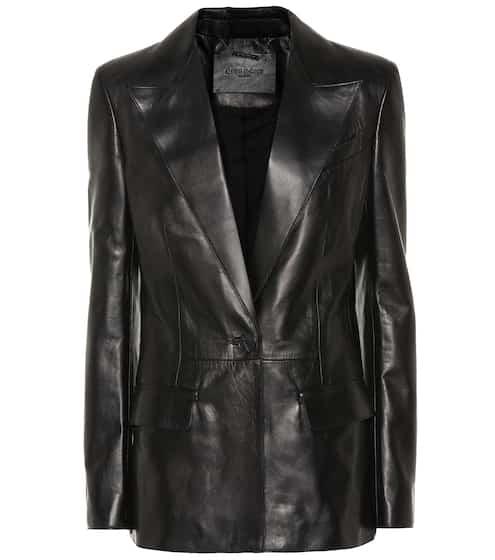 Vestes en cuir Femme - Perfectos de Luxe   Mytheresa 3ffbed758dc