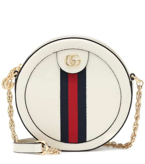 bcd05bd87f2b Ophidia Mini Round leather shoulder bag | Gucci. Gucci
