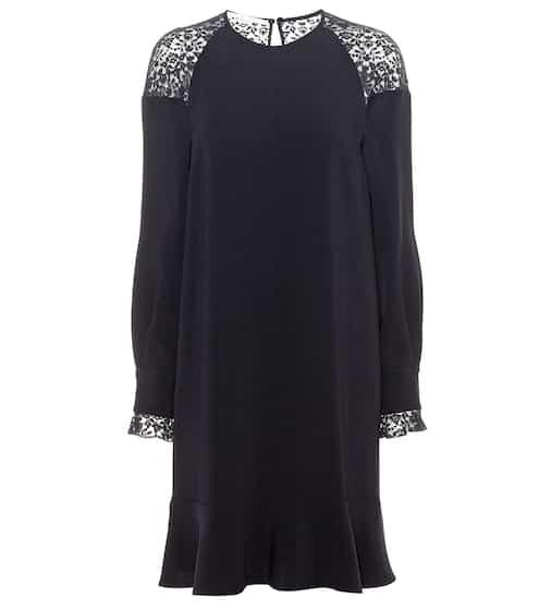Stella McCartney Crêpe-Kleid mit Spitze