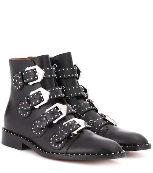ca8ab28da8cd Embellished leather boots