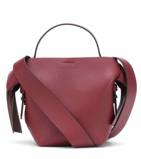 아크네 스튜디오 Acne Studios Musubi Mini leather shoulder bag