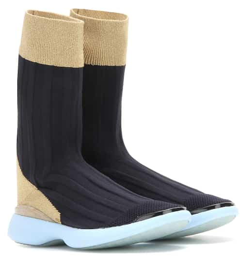 Cheap Top Quality Discount Best Place Batilda black as sock high-top sneakers Acne Studios 3g7H9F1F