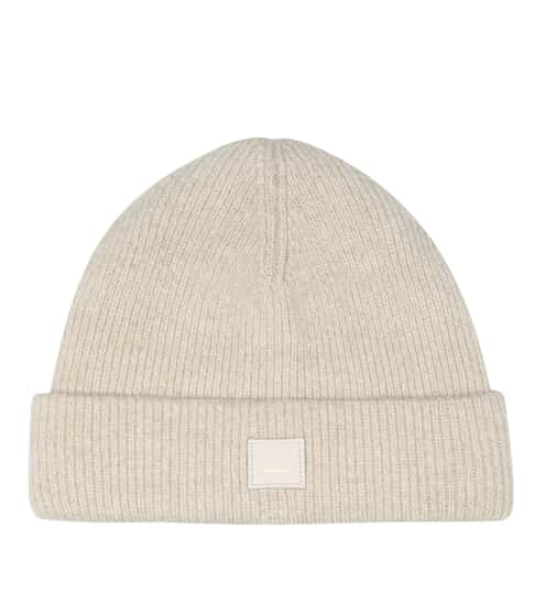 아크네 스튜디오 Acne Studios Face wool-blend beanie