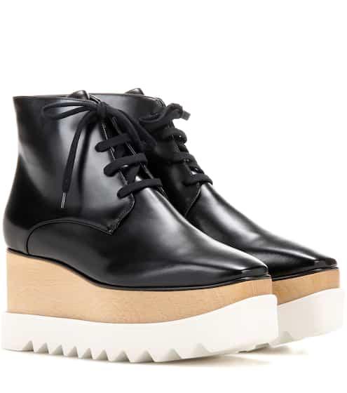 3fcba4d61542 Stella McCartney Platform Ankle Boots from mytheresa - Styhunt