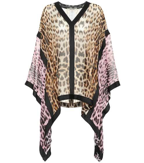 6f23a0b2e2053 Leopard-print silk blouse | Roberto Cavalli. Roberto Cavalli
